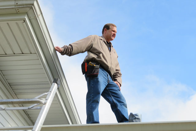 Licensed Home Inspector George Norberg